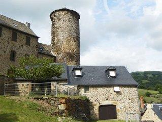 Ancienne grange rénovée au coeur de l'aveyron - A1h de LAGUIOLE
