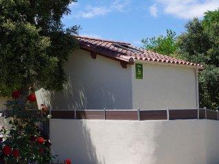 Maison independante, jardin, plancha, climatisation Argeles/mer/plage