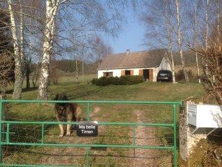 Maison au calme, au coeur du Morvan et proche du lac des Settons