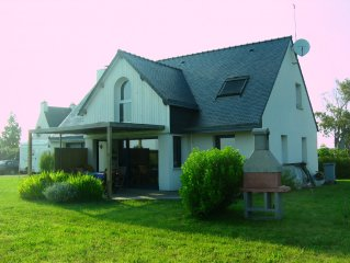 House 900m Kerhillio Beach, Morbihan, 8 places, near Carnac