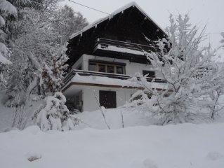 Chalet Megève Mont d'Arbois 400 mètres des pistes