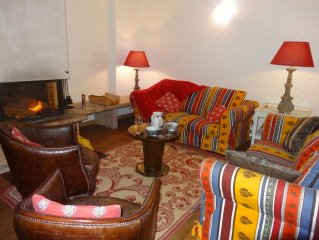 Warm Chalet 9 persons to the slopes and 5 minutes from shops