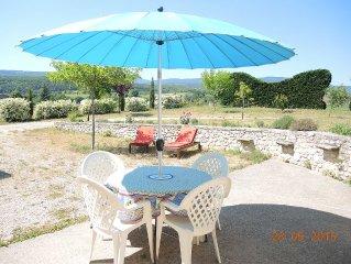 Location gite au pied du Mont Ventoux entoure de lavande a Sault en provence