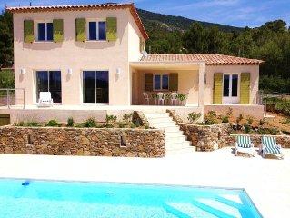 Sun Roquebrun: villa, bright and comfortable
