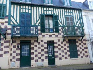 Appartement Centre ville de Villers-sur-Mer - 200 m de la plage - Wifi