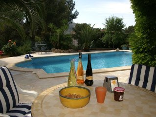 Riviera: apartment with private pool in the middle of Pines> quality / price