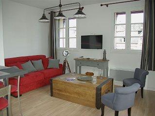 The Logis de Nevers, new apartment 45 m2, 1 bedroom for 2 people. (car park)