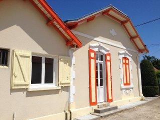 Maison Arcachonnaise 3 * avec jardin, proche centre-ville et port de larros