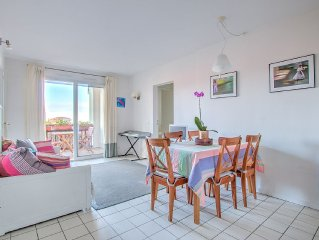 Morea - guethary Apartment with pool, two steps from the center and the sea