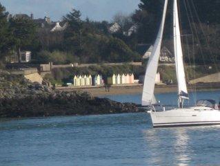 Maison tout confort 300 m de la mer sur golfe du Morbihan et iles