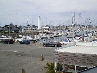Appartement  T3 donnant directement sur le Port du Crouesty