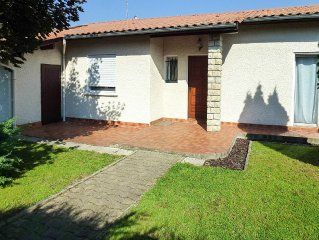 Villa with garden and pool, Arcachon, 6 people