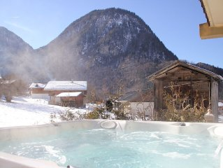 Charming cottage aves Private SPA Grand Massif