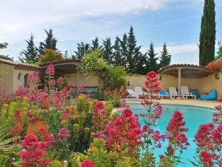 Provence / Luberon - Independent villa with pool and jacuzzi (8 pers.)