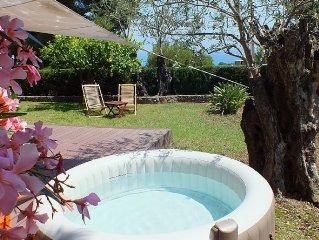 Appartement 2 pieces dans villa avec jardin individuel a Roquebrune-Cap-Martin