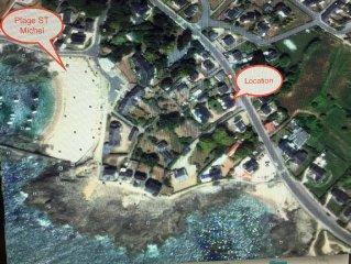 La Baule Batz and surrounding sea, 50m range ST Michel and wild coast