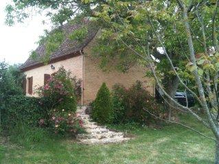 Villa de caractere  2 a 4 personnes, proche Sarlat Perigord Noir, WIFI