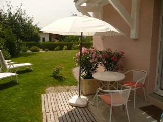 charming furnished studio for 2, 5 km from Annecy