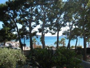 Magnifique maison avec vue mer a 15 metres de la plage - climatisation