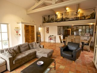 Lovely villa for a quiet holiday in Roussillon in the Luberon