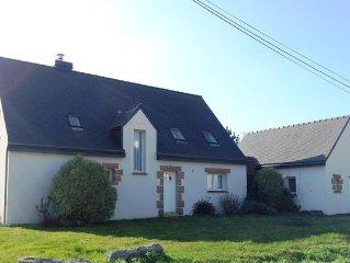 A Trégastel, confortable maison de famille proche de la mer et du centre
