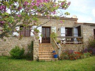 Maison de charme proche mer Corse du Sud