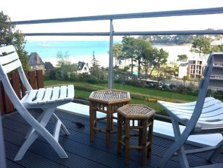Apartment 2 + 1 people, panoramic sea views, dire