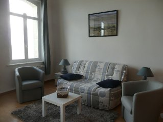 Look at the Somme: furnished studio stunning view