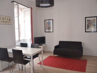 APPT 2 PIECES - 1ch -150M plage- en centre ville  -