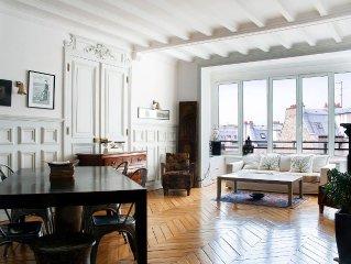 200 m2 avec vue sur le Sacre Coeur et les toits de Paris