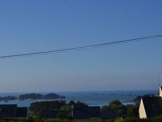 Maison vue sur Mer - 800 metres de la plage