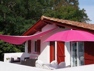 Coquet gite  de type T3 de 96 m2 au calme avec piscine 8x4 et terrasse de 30 m2