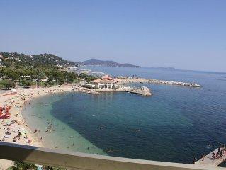 Location vacances Toulon Appartement plage du Mourillon