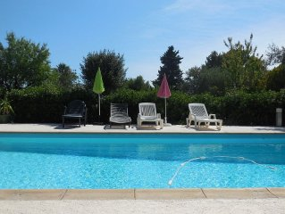 Large family house with sea view cottage with private pool and large garden