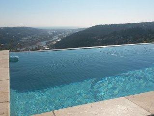 superbe appartement dans villa pour 5 personnes rez de piscine vue panoramique