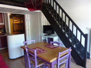 Appartement coquet au centre du village