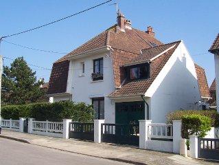 Cote d'Opale LE TOUQUET : Villa a l'oree des Pinedes. Calme. Acces Internet.