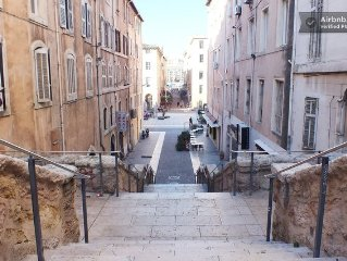 Studio in the heart of Old Port of Marseille, 4 p