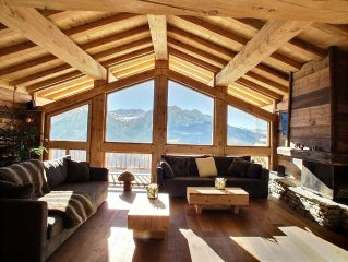 luxurious chalet in the old village of the resort of La Rosiere 1850