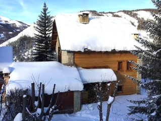 Beau Chalet 9 persons, 5 rooms, 120m2 in Allos