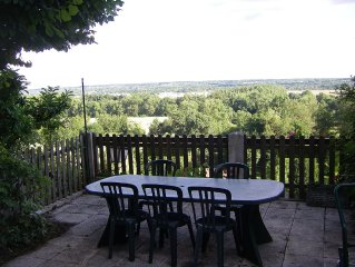 House Semi-Wren, Sleeps 4 A 8 - 5 Min D Amboise - Overlooking the Chateau