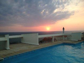 Belle vue directe océan et golf, piscine sur toit, vue imprenable sur Biarritz