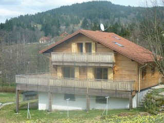 Chalet 3 etoiles Les Ruisseaux, GERARDMER, proximite lac et montagne