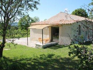 maison independante, en pierre a Forcalquier, pleine nature, avec vue superbe