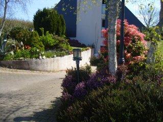 Maison individuelle à Guidel au calme, entre plage et centre ville( 1,5 km ).