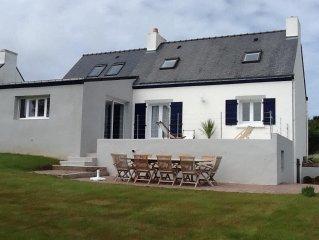 Maison de charme pour 7 personnes avec vue sur mer et plages a 50 metres