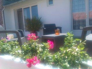 Chambres avec petits dejeuners a 500m de la plage a Fort Mahon a partir de 65€