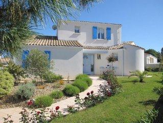Villa bord de mer, 4 etoiles, Lumineuse, Calme et Confortable,