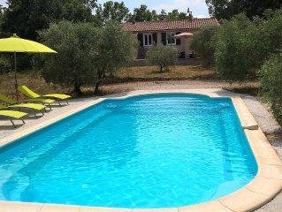 Villa au cœur de la Provence verte (piscine privée, 8 personnes)