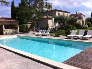 The farmhouse of the hoopoe, family home in Provence, Villa any comfort secure